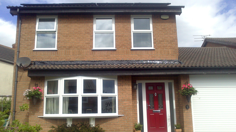 Rehau uPVC window fitters Newcastle