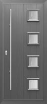 Stafford solid wood composite door