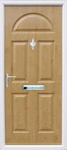 Conway timber filled composite door