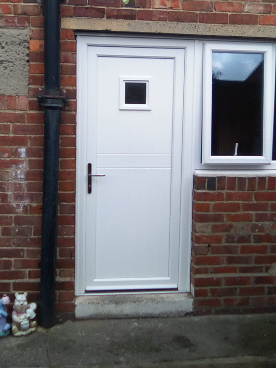 Solid timber filled composite doors Northumberland